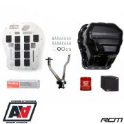 RCM Engine Sump Oil Control & Baffle Plate Kit Subaru EJ20 Single Scroll
